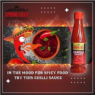 Spring Field Chilli Sauce - 330ml For Soups