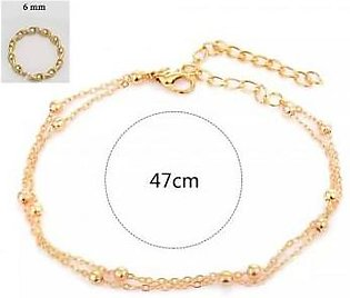 Scenic Accessories Set of Anklet and Nose Ring