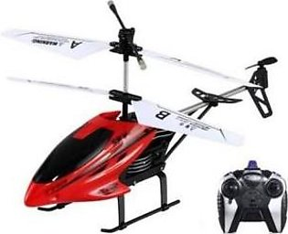 Variety Store Flying Helicopter-Red-Remote Control