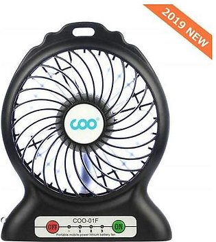 Other Portable USB Fan Battery Operated Fan with Flashlight Quiet and Powerfu...