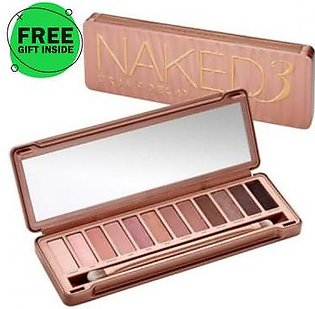 Dukaan4all Flagship Store Urban Decay Naked 3 + free gift