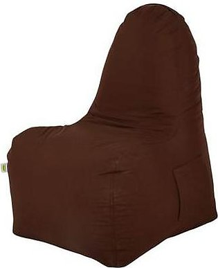 Relaxsit Smart Comfy Fabric Bean Bag chair-Brown