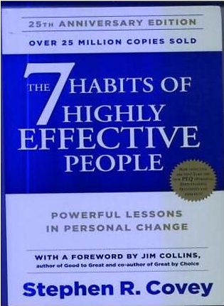 BOOK Centres- 1952 7 Habits Of Highly Effective People By Steephen R. Covey