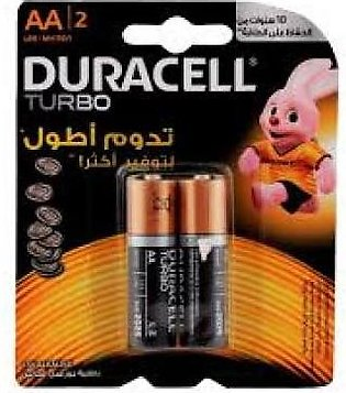 Duracell Duracell Turbo AA Battery LR6 2s