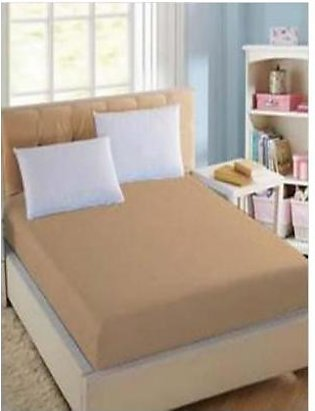 BaggyBeans Baggy Beans Fitted Sheets -Stretch Jersey Fitted Sheet - Camel