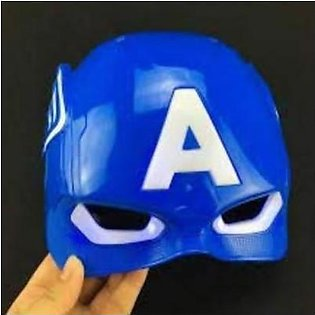 Rubian Super Hero Captain America Toy Mask Led light Full Face Mask For Kids