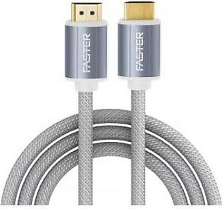 Faster FASTER High Speed 1.4V HDMI Cable 4K 3 Meter