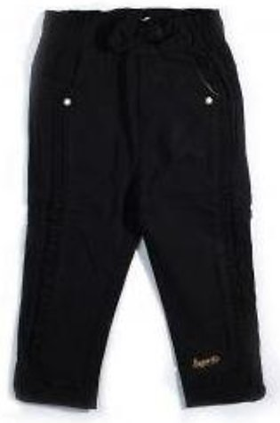 GIRLS BLACK PANT ZE 0215904