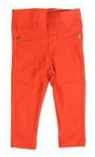GIRLS ORANGE PANT