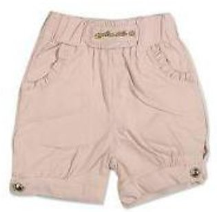 GIRLS PEACH SHORT