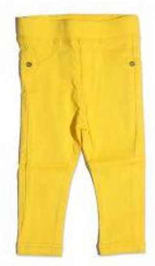 GIRLS YELLOW PANT