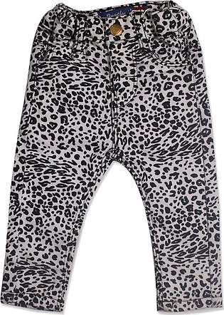 GIRLS BLACK-WHITE PANT