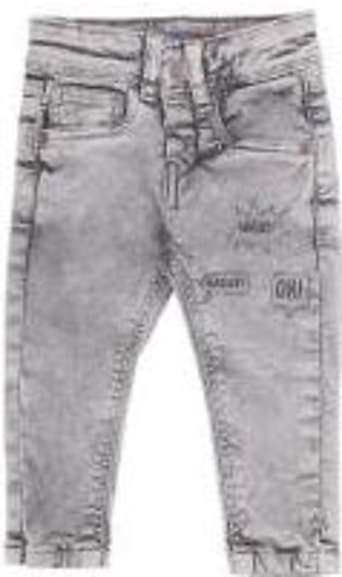 GREY POWER DENIM