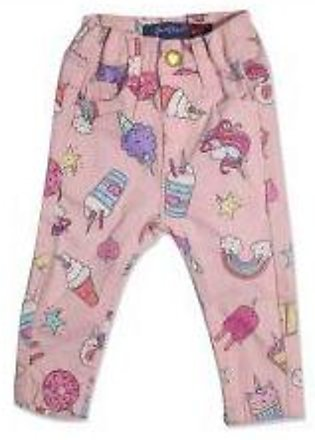 GIRLS PINK ICE CREAM PANT